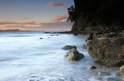 Rocky Shoreline Royalty Free Stock Image