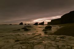 Rocky Shoreline Stock Images