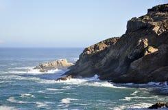 Rocky Shoreline. Stock Photo