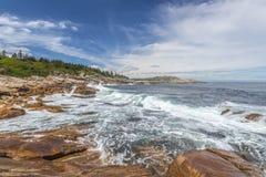 Rocky Shoreline Lizenzfreie Stockbilder