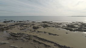 Rocky Shoreline stock video footage