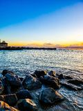 Bay of water. royalty free stock photo