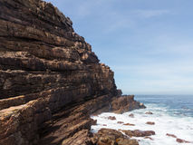 Rocky shoreline Cape of Good Hope Stock Photos
