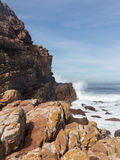 Rocky shoreline Cape of Good Hope Stock Image