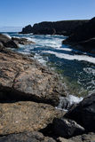 Rocky Shoreline in the Outer Hebrides Royalty Free Stock Photography