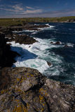 Rocky Shoreline in the Outer Hebrides Stock Photo