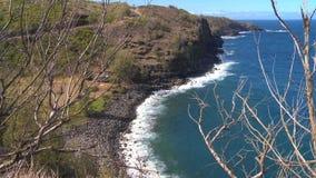 Rocky Shoreline - Time Lapse stock footage