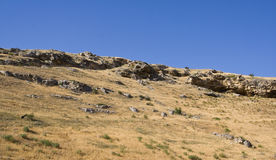 Rocky slope. Stock Image