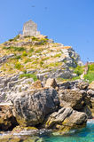 The rocky slope Royalty Free Stock Photo