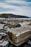 Rocky Southerndown Beach Images stock