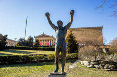 Rocky Statue en Philadelphia, Fotos de archivo