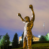 The Rocky Statue in Philadelphia Royalty Free Stock Image