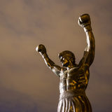 The Rocky Statue in Philadelphia Stock Photo