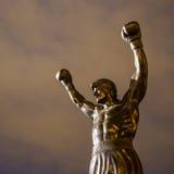 The Rocky Statue in Philadelphia Stock Photo