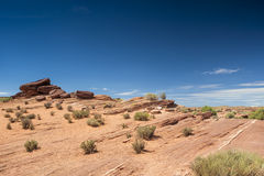 Rocky Stone Formation in Monument Valley, Arizona State. USA Royalty Free Stock Photo