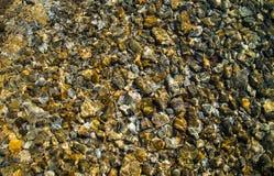 Rocky Stones dans l'eau du fond Photos libres de droits