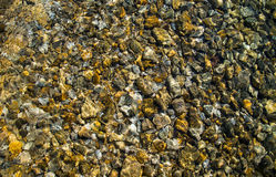 Rocky Stones in Underwater Fotografie Stock Libere da Diritti