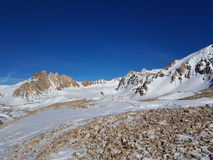 Rocky Summit in Argentina Stock Image