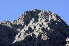 Rocky summit of the White Mountains Royalty Free Stock Images