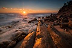 Rocky sunrise Royalty Free Stock Photo