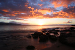 Rocky Sunset Stock Image