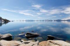 Rocky Tahoe Shores Foto de archivo