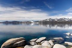 Rocky Tahoe Shores Imagen de archivo libre de regalías