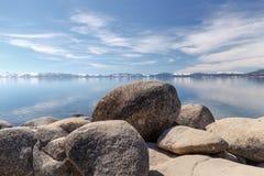 Rocky Tahoe Shores Fotografía de archivo