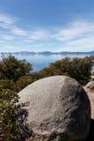 Rocky Tahoe Shores Imagenes de archivo