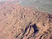 Rocky terrain region of Nevada Stock Images