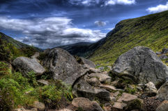 Rocky Terrain In Wicklow Stock Photography