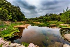 A Rocky Texas Creek. Royalty Free Stock Image