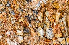 Orange rocks, Sierra del Rosario, Cuba stock images