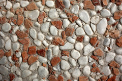 Rocky texture on wall Royalty Free Stock Photo