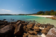 Rocky Thai Island Beach Koh Lipe Stock Images