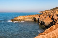 Free Rocky Tidepool Area At Cabrillo National Monument During High Tide Royalty Free Stock Photography - 106822727