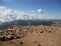 Rocky Top dos piques Colorado Springs máximo Foto de Stock