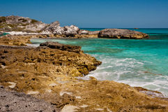 Rocky Tropical Coastline Royalty Free Stock Photography