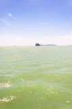 Rocky tropical island near Koh Samui Royalty Free Stock Photos