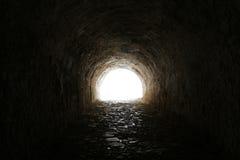 Rocky tunnel. Royalty Free Stock Photos