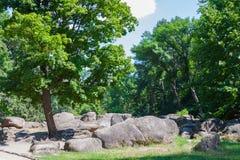 Rocky valley Royalty Free Stock Photo