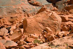 Rocky Valley of Fire Stock Photography