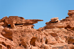 Rocky Valley of Fire Royalty Free Stock Photo