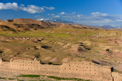 Rocky valley panorama, Morocco Stock Photos