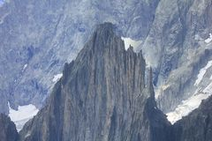 Rocky wall in the Italian Alps. A rocky wall in the Italian Alps royalty free stock photography
