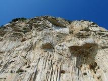 Rocky wall at Sentiero degli  Dei Stock Photos