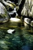 Rocky waterfall Stock Image