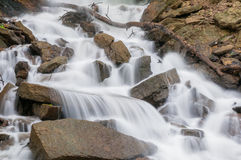 Rocky Waterfall Royalty Free Stock Photography