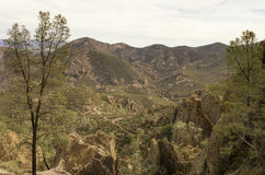 Rocky Western Mountain Vista Fotografia Stock