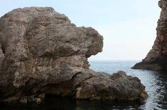 rocky wybrzeże Zdjęcia Royalty Free